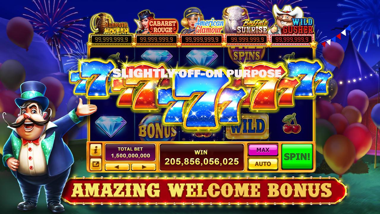 Welcome Bonus Slot Game